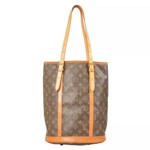Louis Vuitton Monogram Bucket GM Tote Bag